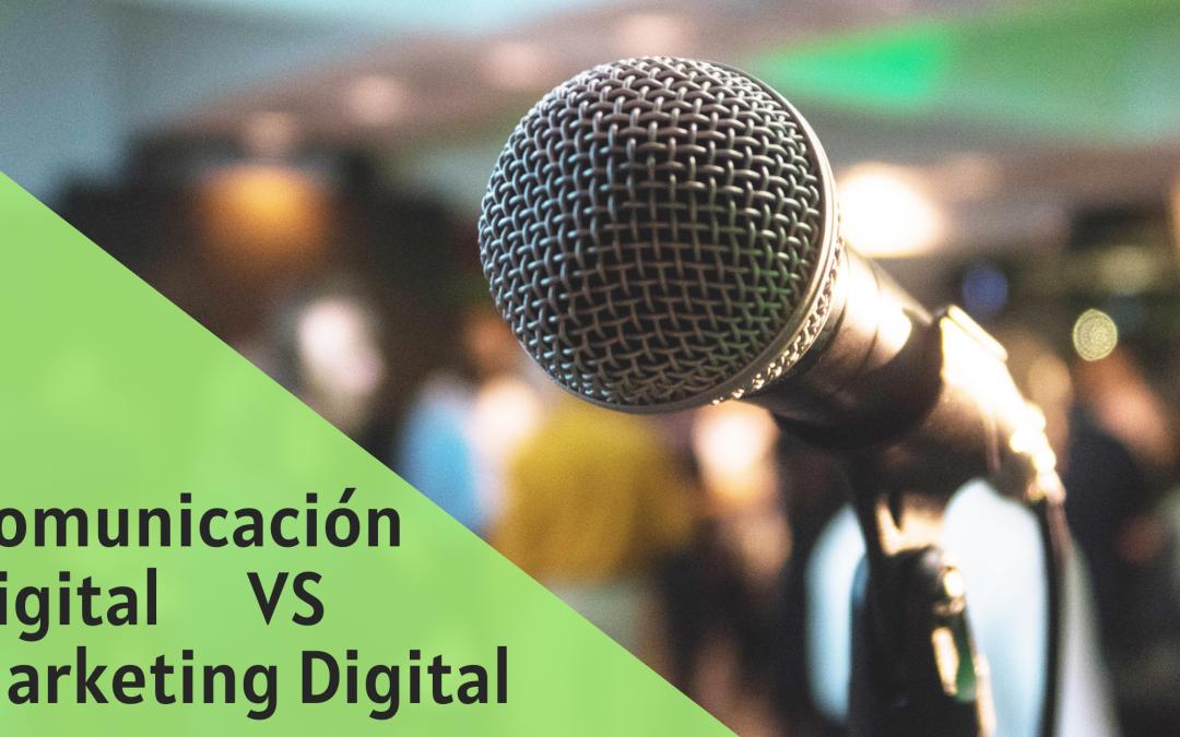 Diferencias entre Comunicación digital corporativa y Marketing digital productivo