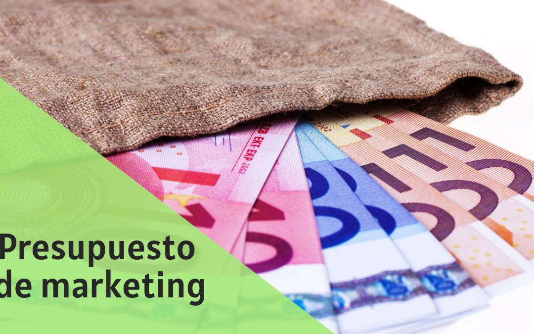 Decide el presupuesto de Marketing de tu empresa